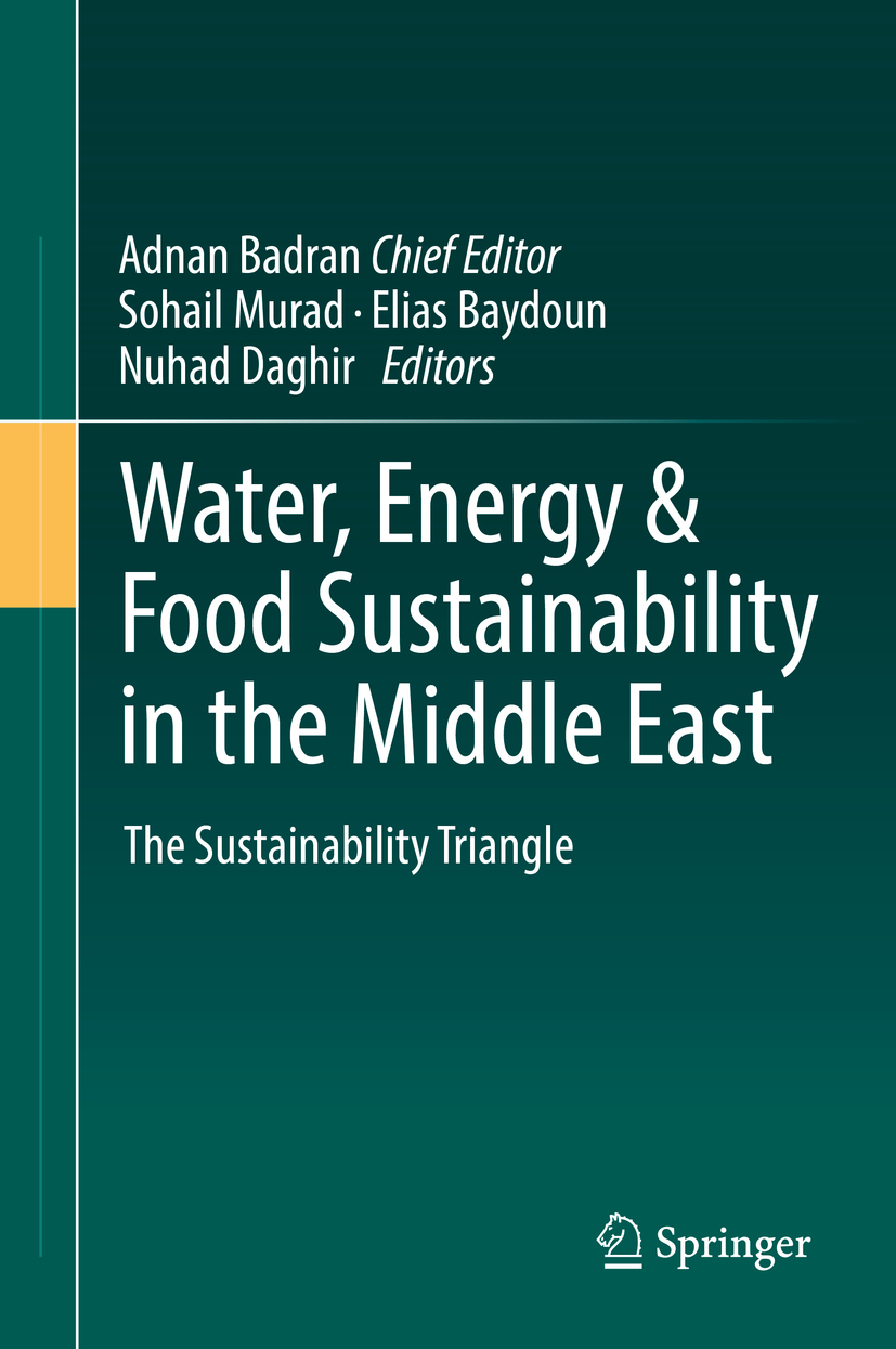 Baydoun, Elias - Water, Energy & Food Sustainability in the Middle East, ebook