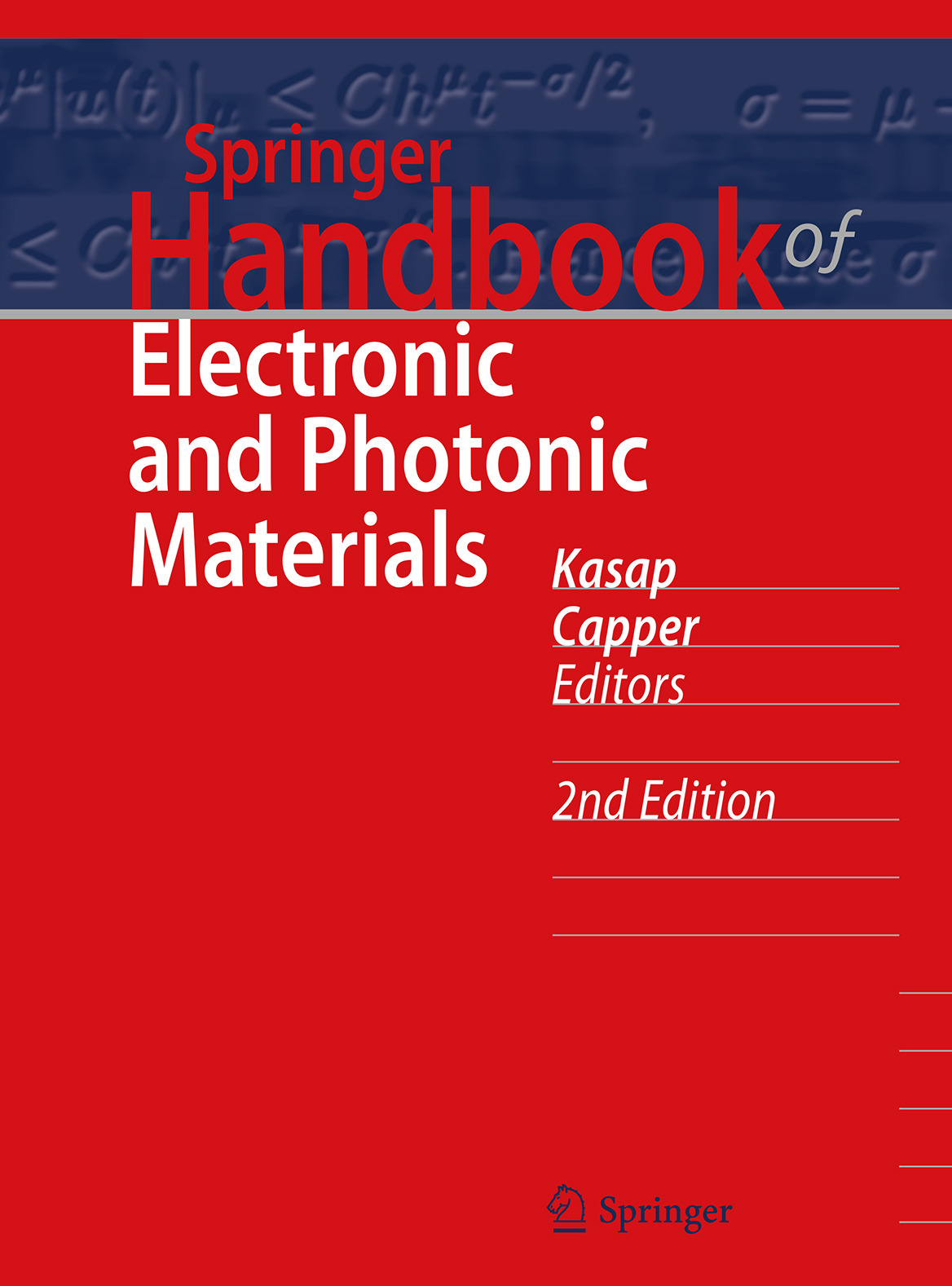 Capper, Peter - Springer Handbook of Electronic and Photonic Materials, ebook