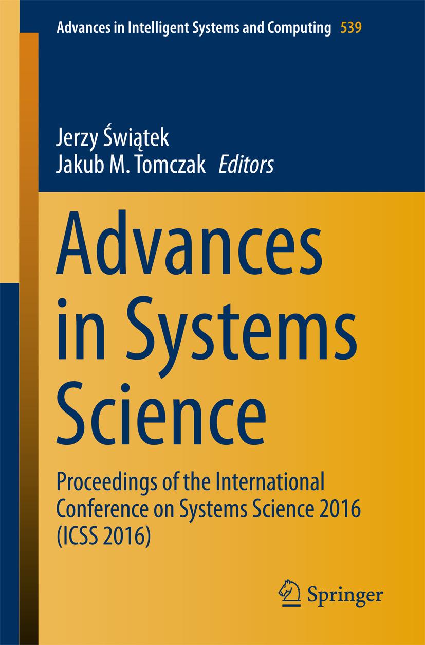 Tomczak, Jakub M. - Advances in Systems Science, ebook
