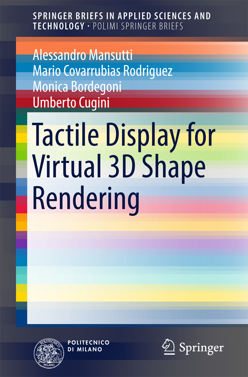 Bordegoni, Monica - Tactile Display for Virtual 3D Shape Rendering, ebook
