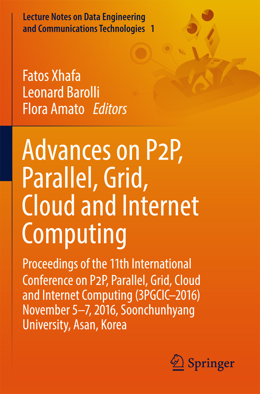 Amato, Flora - Advances on P2P, Parallel, Grid, Cloud and Internet Computing, ebook