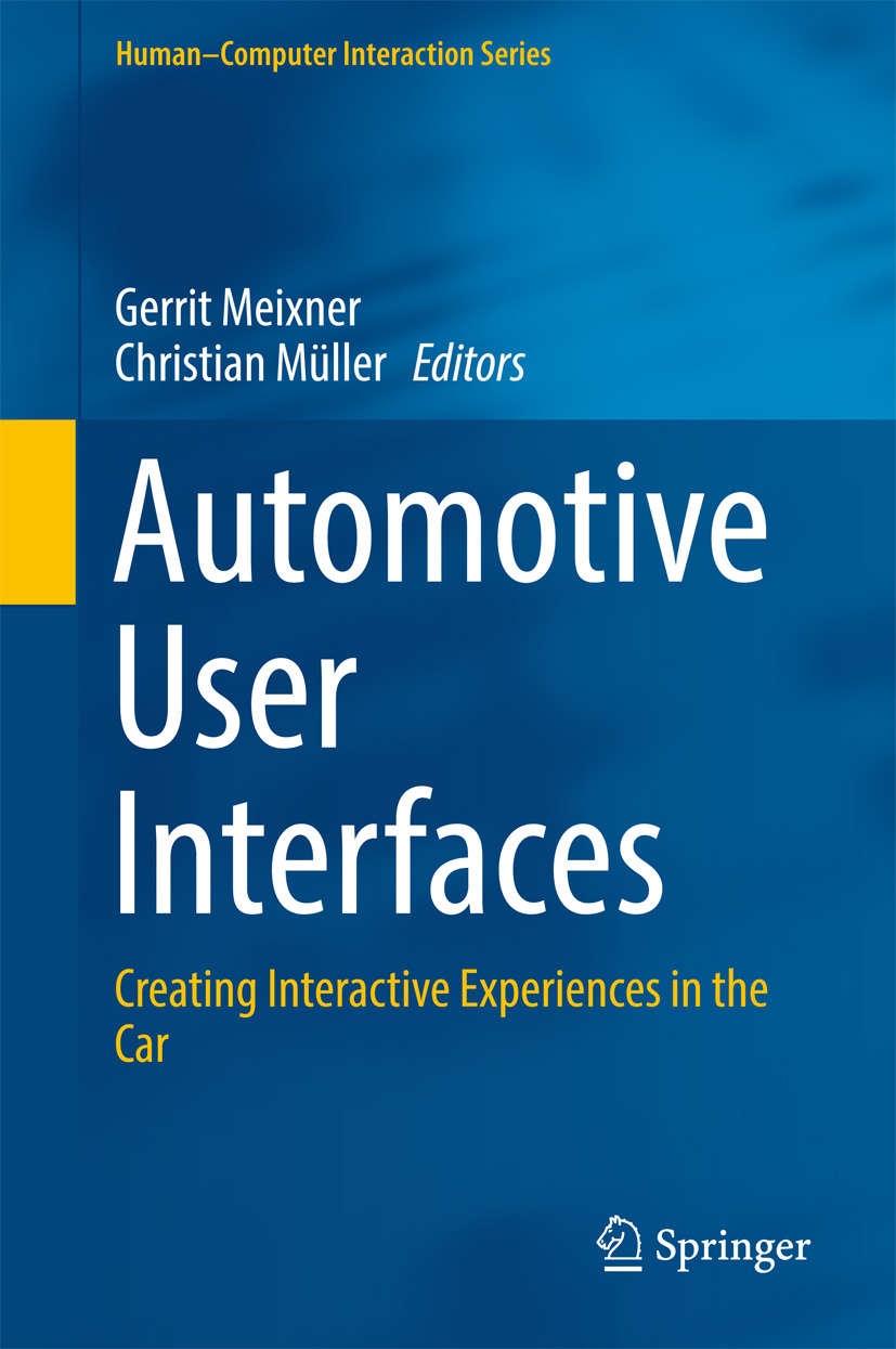 Meixner, Gerrit - Automotive User Interfaces, ebook