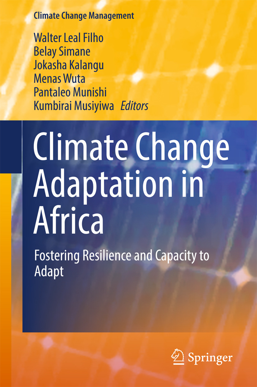 Belay, Simane - Climate Change Adaptation in Africa, ebook