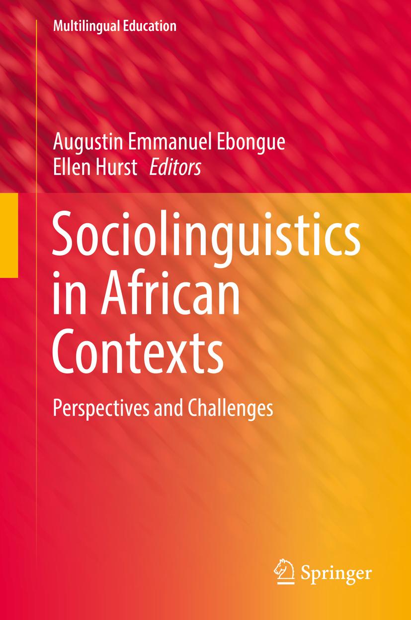Ebongue, Augustin Emmanuel - Sociolinguistics in African Contexts, ebook