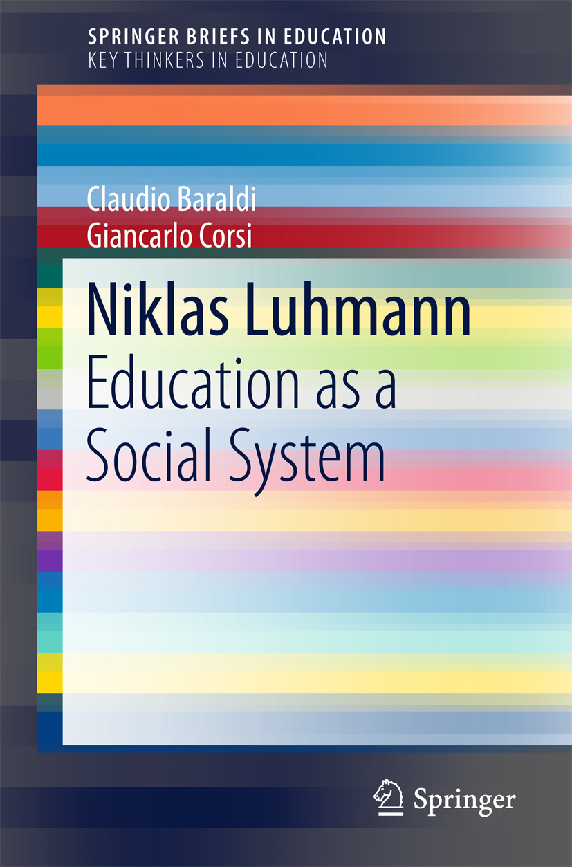 Baraldi, Claudio - Niklas Luhmann, ebook