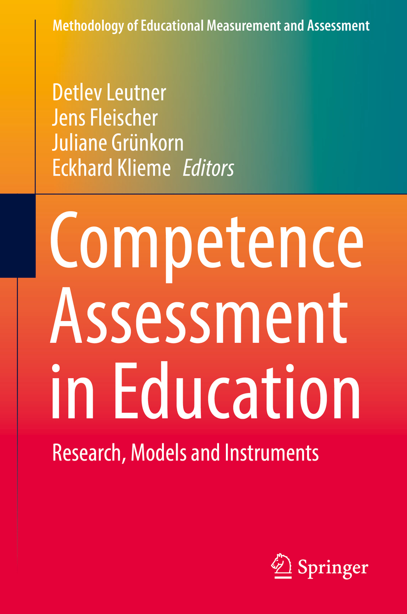 Fleischer, Jens - Competence Assessment in Education, ebook