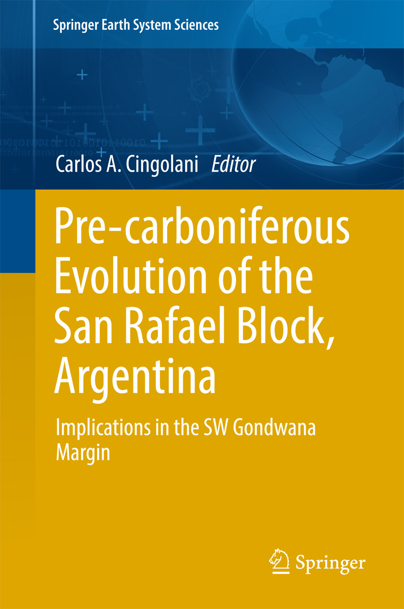 Cingolani, Carlos Alberto - Pre-carboniferous Evolution of the San Rafael Block, Argentina, ebook