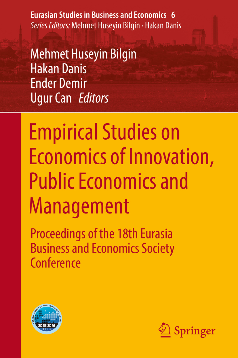 Bilgin, Mehmet Huseyin - Empirical Studies on Economics of Innovation, Public Economics and Management, ebook