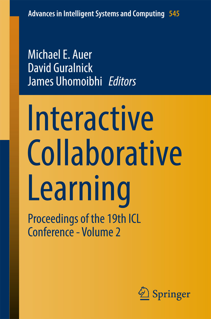 Auer, Michael E. - Interactive Collaborative Learning, ebook
