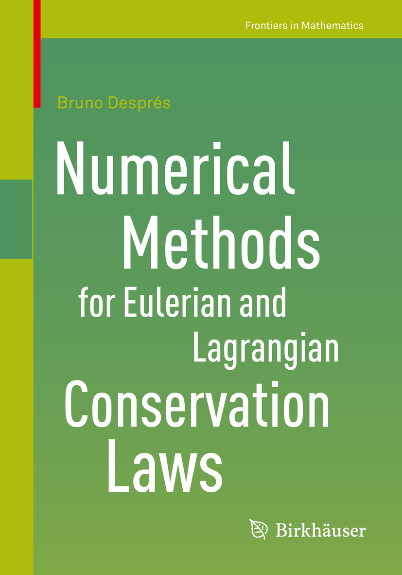 Després, Bruno - Numerical Methods for Eulerian and Lagrangian Conservation Laws, ebook