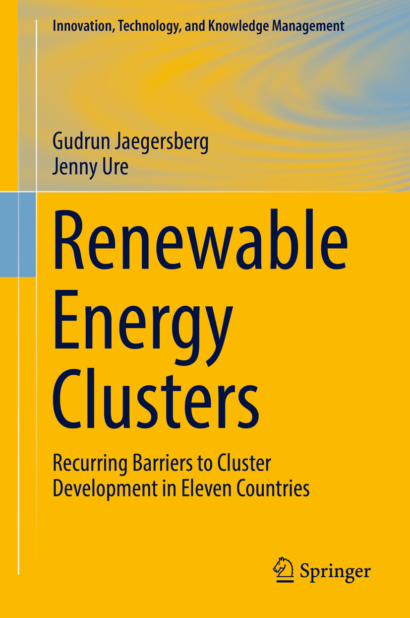 Jaegersberg, Gudrun - Renewable Energy Clusters, ebook