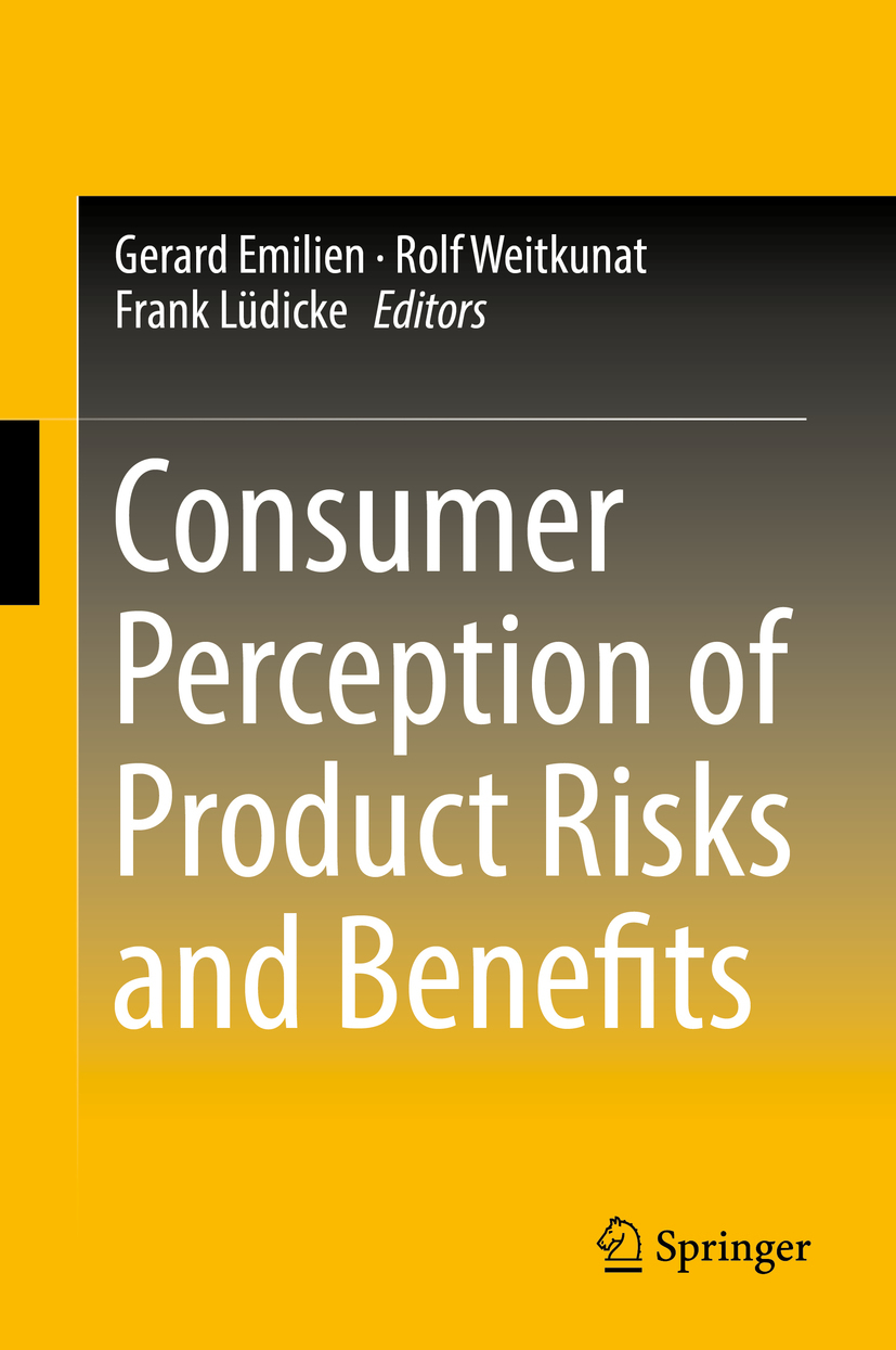 Emilien, Gerard - Consumer Perception of Product Risks and Benefits, ebook
