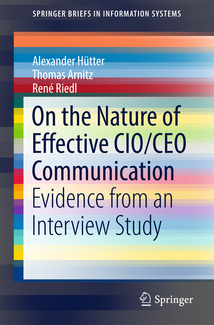 Arnitz, Thomas - On the Nature of Effective CIO/CEO Communication, ebook