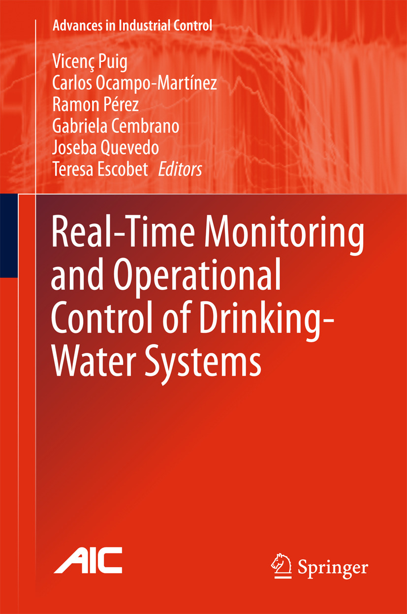 Cembrano, Gabriela - Real-time Monitoring and Operational Control of Drinking-Water Systems, ebook