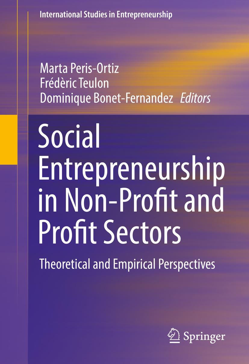 Bonet-Fernandez, Dominique - Social Entrepreneurship in Non-Profit and Profit Sectors, ebook