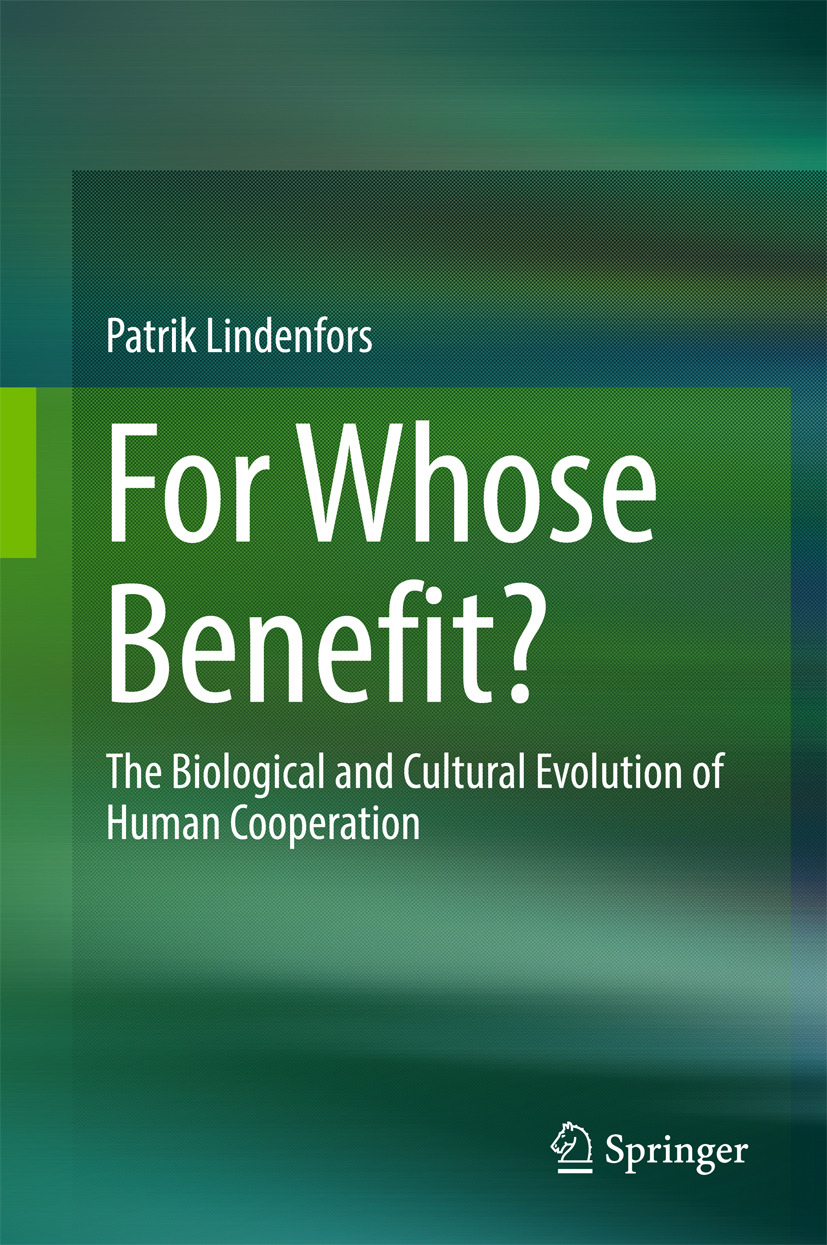 Lindenfors, Patrik - For Whose Benefit?, ebook