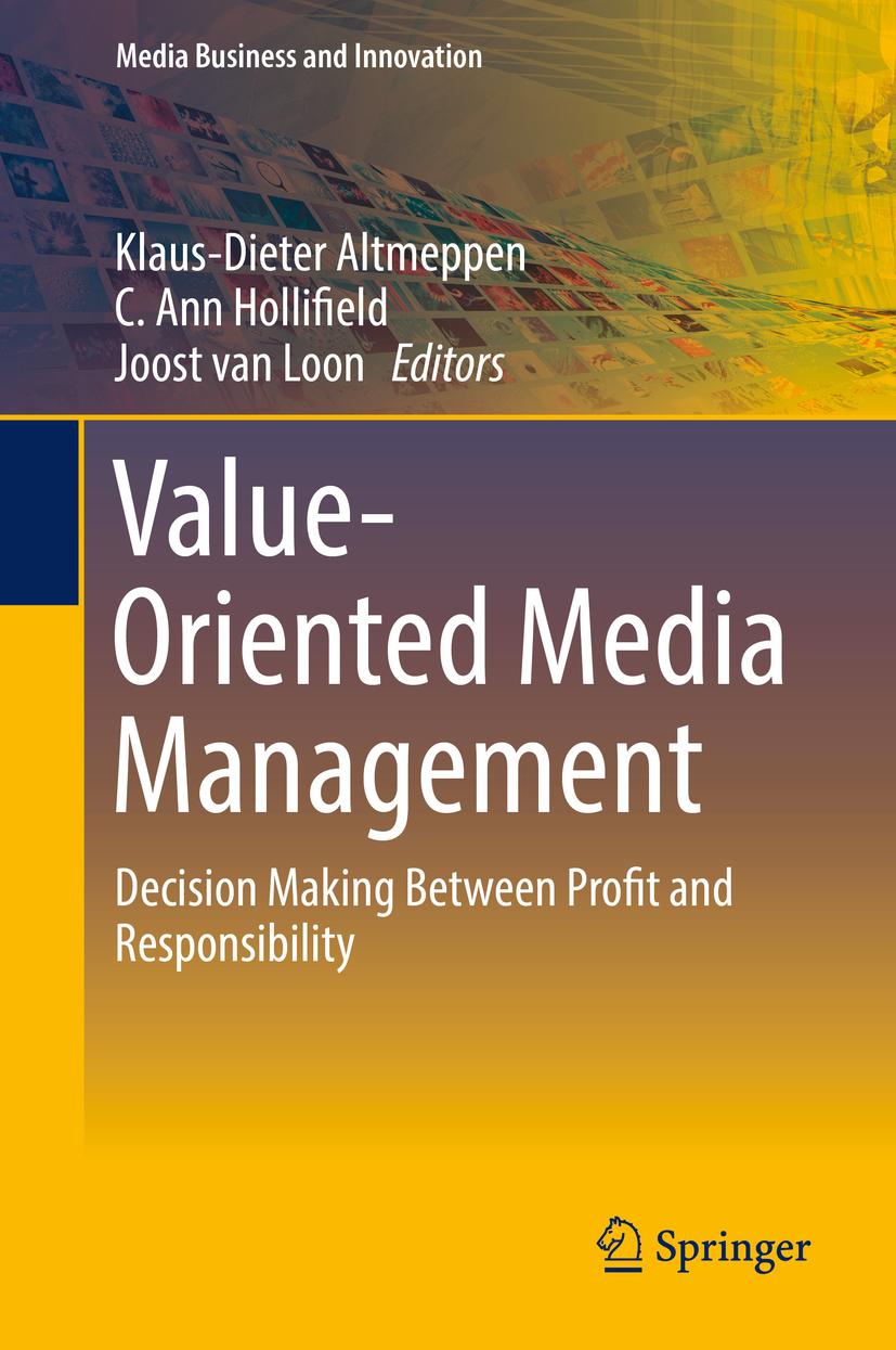 Altmeppen, Klaus-Dieter - Value-Oriented Media Management, ebook