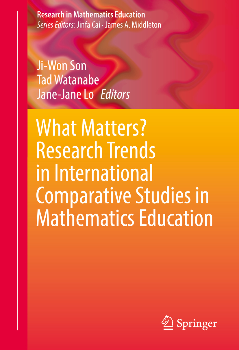 Lo, Jane-Jane - What Matters? Research Trends in International Comparative Studies in Mathematics Education, ebook