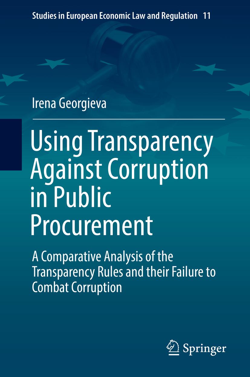 Georgieva, Irena - Using Transparency Against Corruption in Public Procurement, ebook