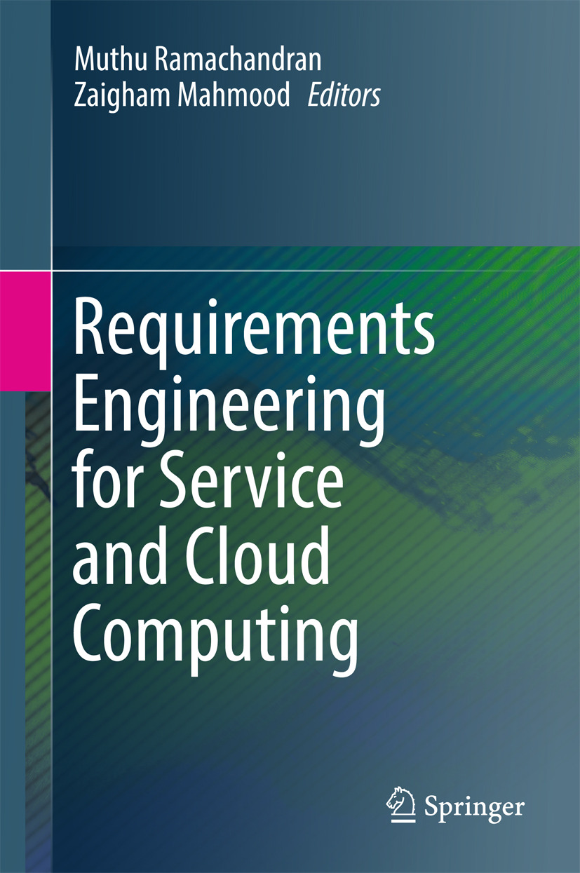 Mahmood, Zaigham - Requirements Engineering for Service and Cloud Computing, e-kirja