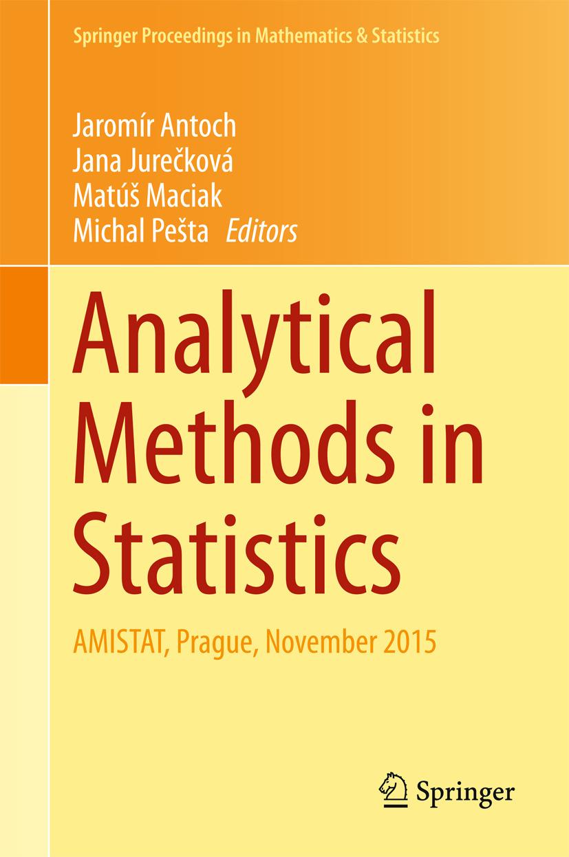 Antoch, Jaromír - Analytical Methods in Statistics, ebook