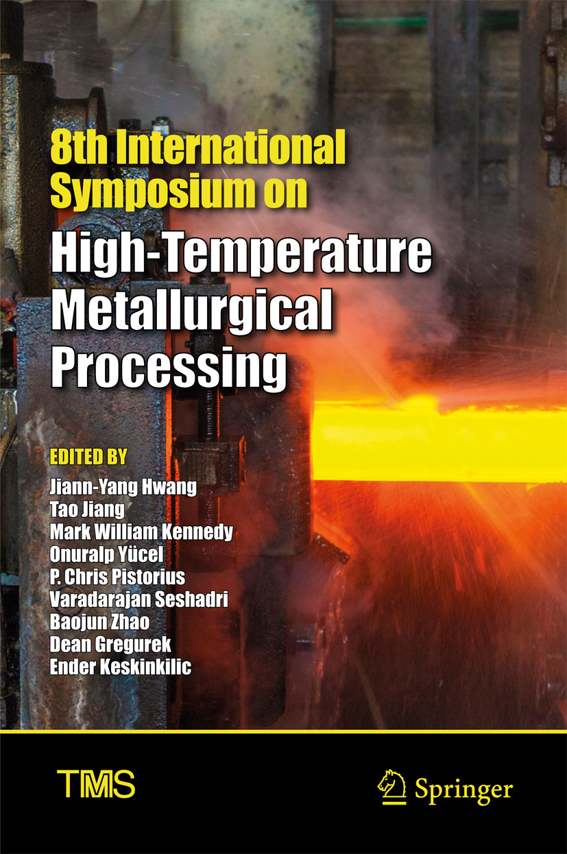 Gregurek, Dean - 8th International Symposium on High-Temperature Metallurgical Processing, ebook