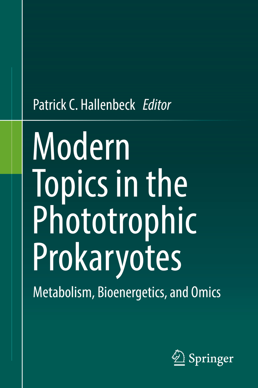 Hallenbeck, Patrick C. - Modern Topics in the Phototrophic Prokaryotes, ebook