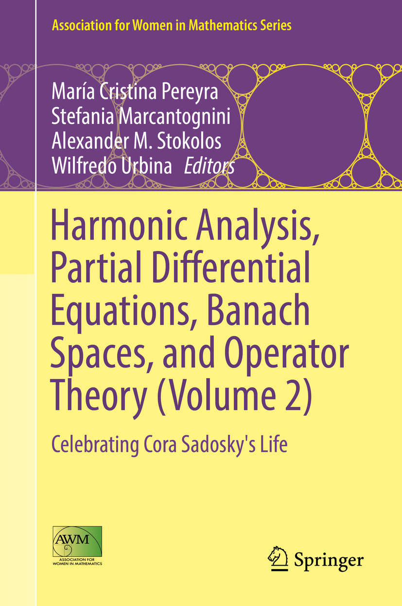 Marcantognini, Stefania - Harmonic Analysis, Partial Differential Equations, Banach Spaces, and Operator Theory (Volume 2), ebook