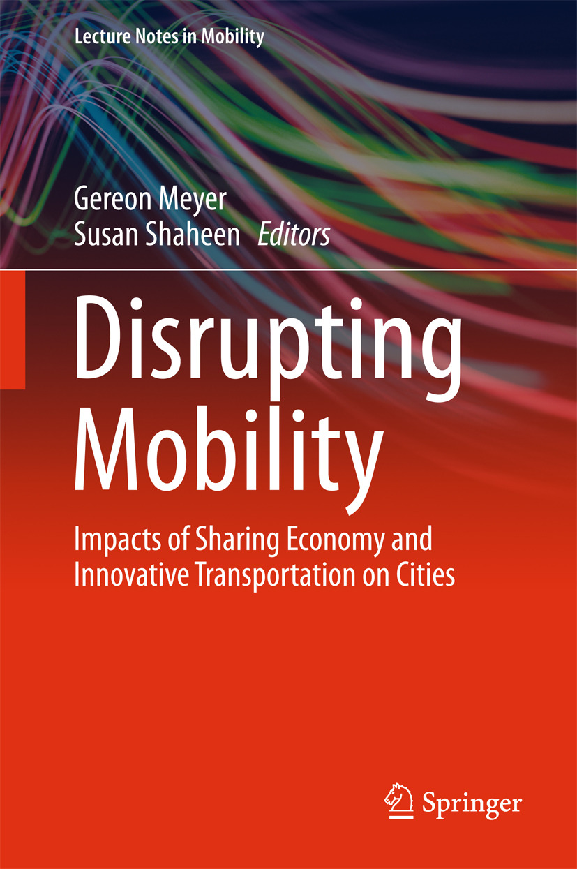 Meyer, Gereon - Disrupting Mobility, ebook
