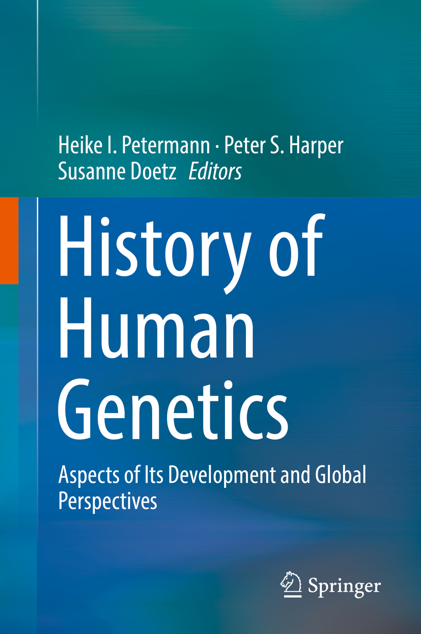 Doetz, Susanne - History of Human Genetics, ebook