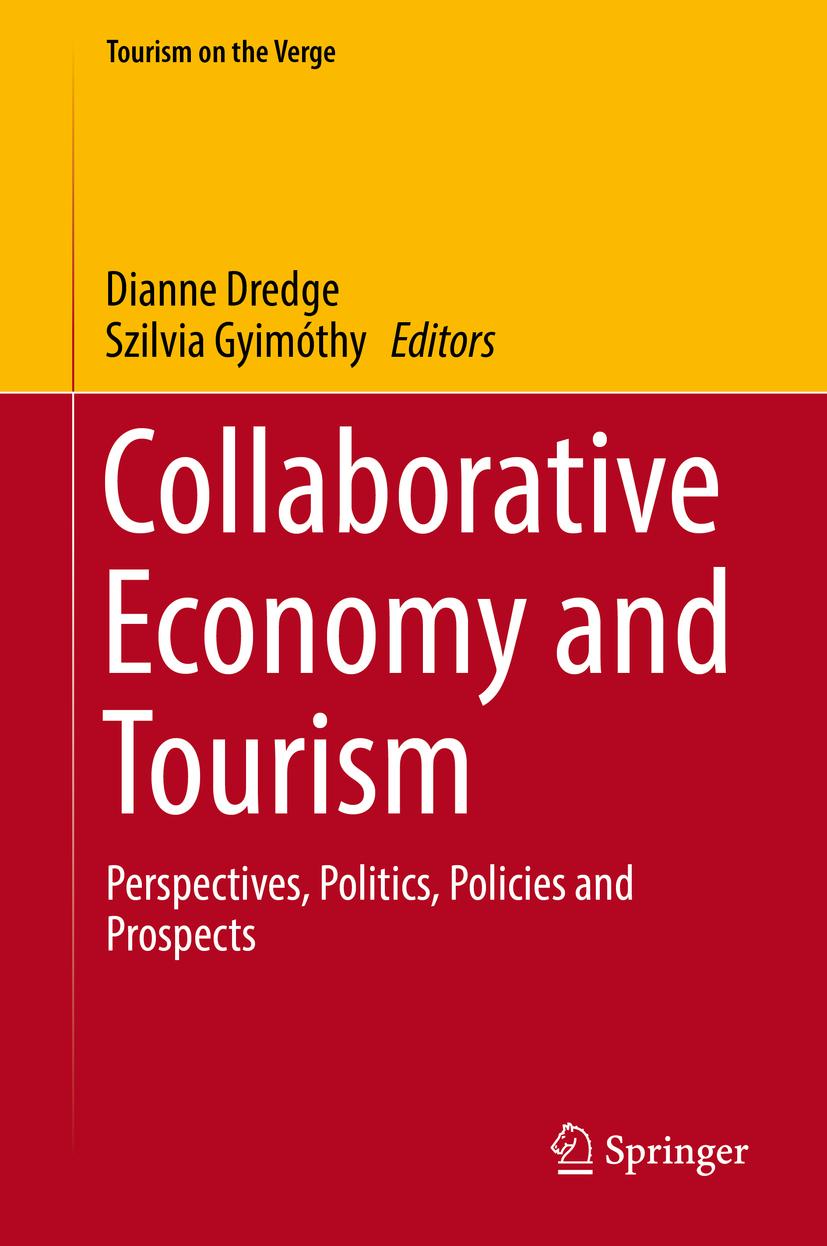 Dredge, Dianne - Collaborative Economy and Tourism, e-bok