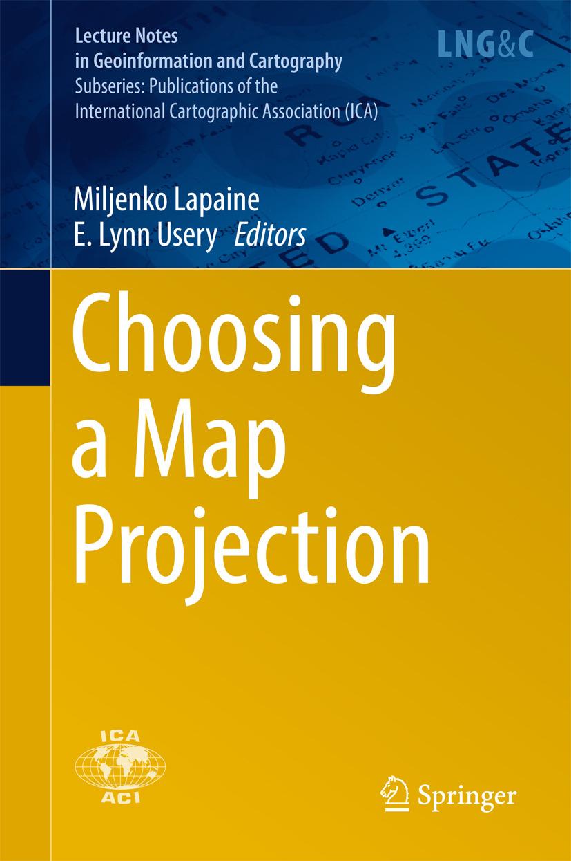 Lapaine, Miljenko - Choosing a Map Projection, ebook