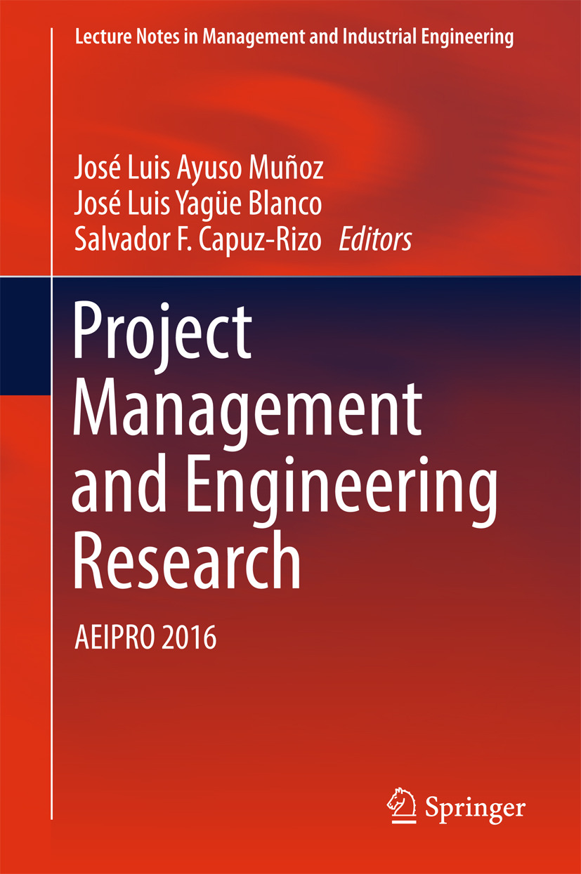Blanco, José Luis Yagüe - Project Management and Engineering Research, ebook