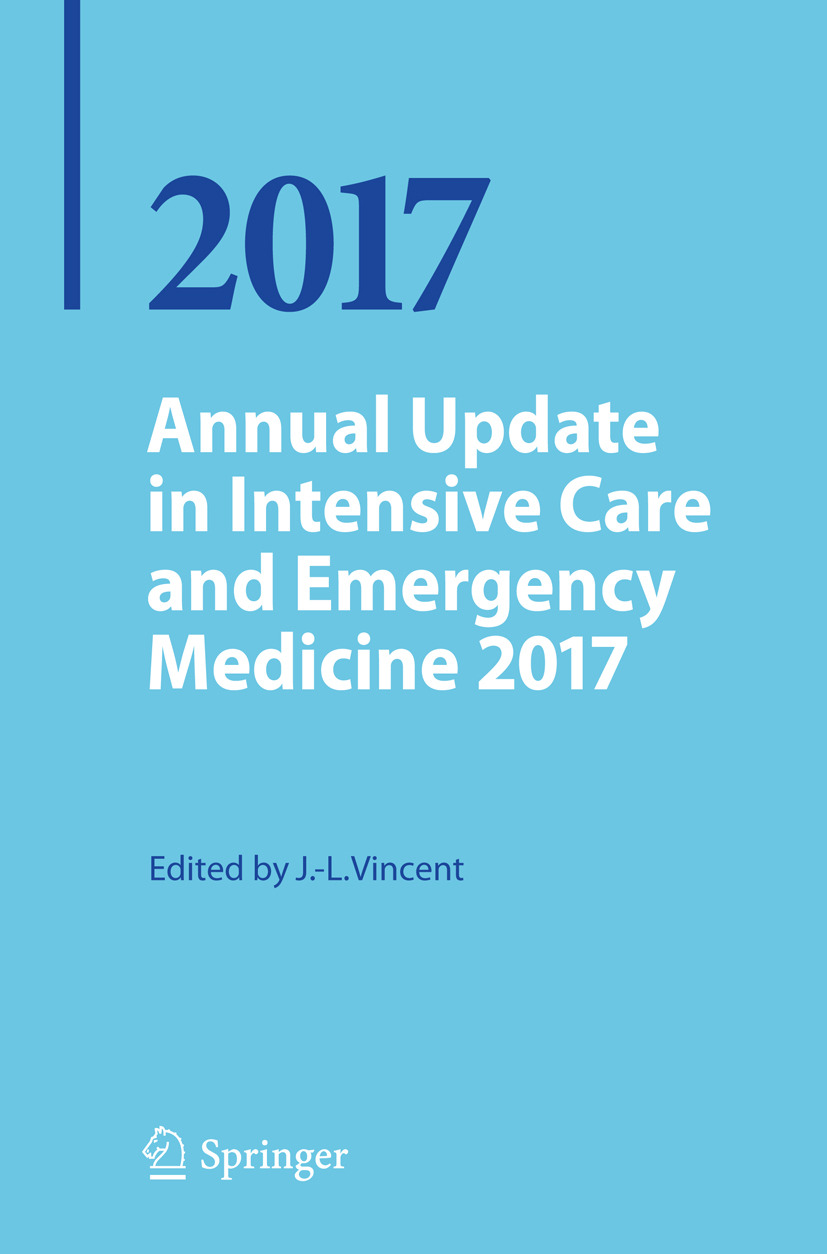 Vincent, Jean-Louis - Annual Update in Intensive Care and Emergency Medicine 2017, ebook