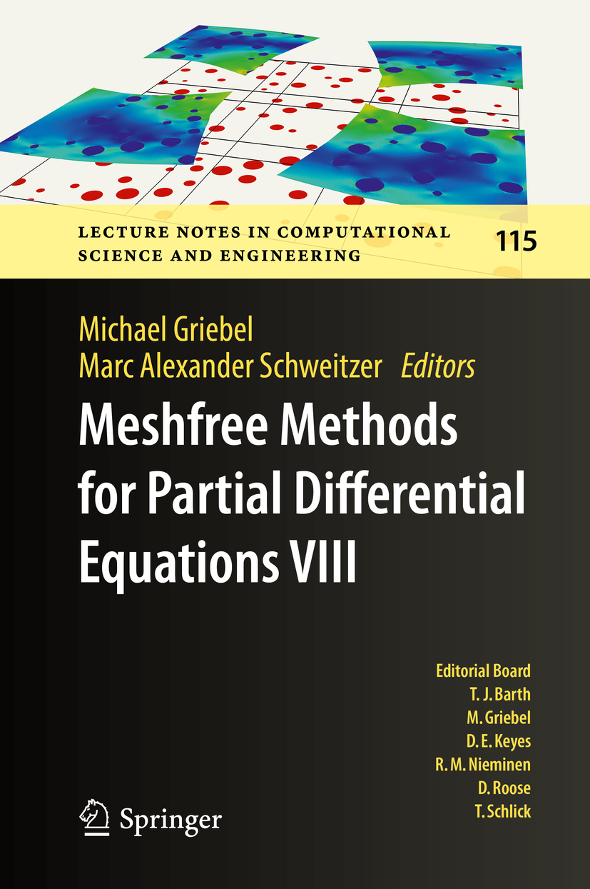 Griebel, Michael - Meshfree Methods for Partial Differential Equations VIII, ebook