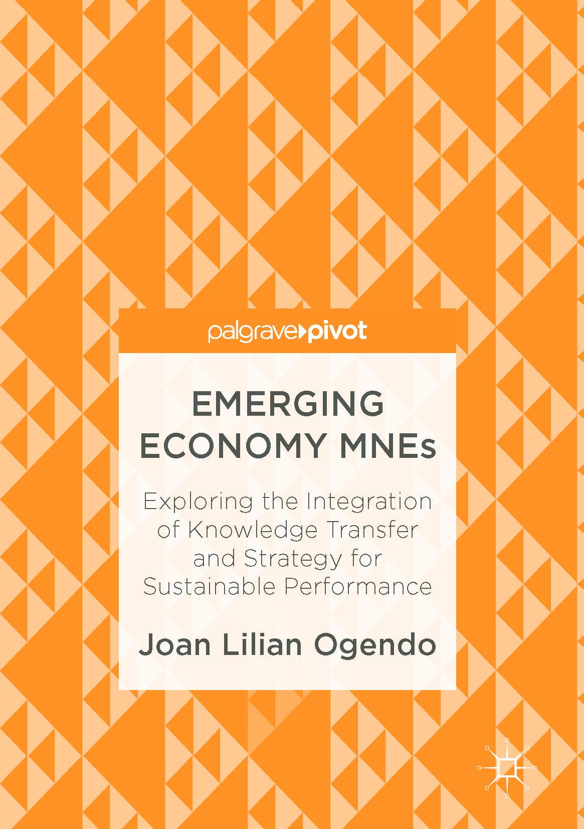 Ogendo, Joan Lilian - Emerging Economy MNEs, ebook