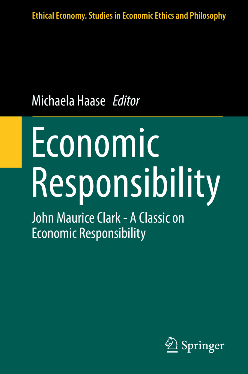 Haase, Michaela - Economic Responsibility, ebook
