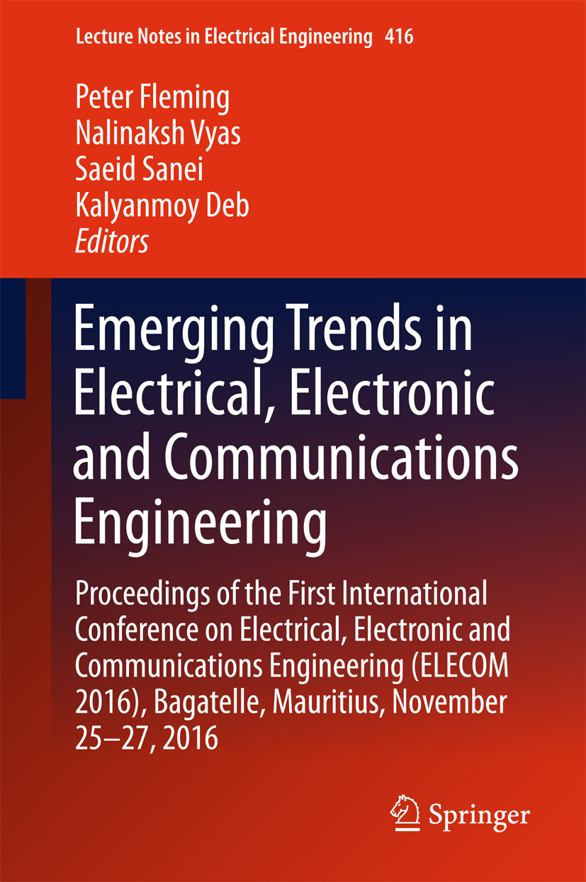 Deb, Kalyanmoy - Emerging Trends in Electrical, Electronic and Communications Engineering, ebook