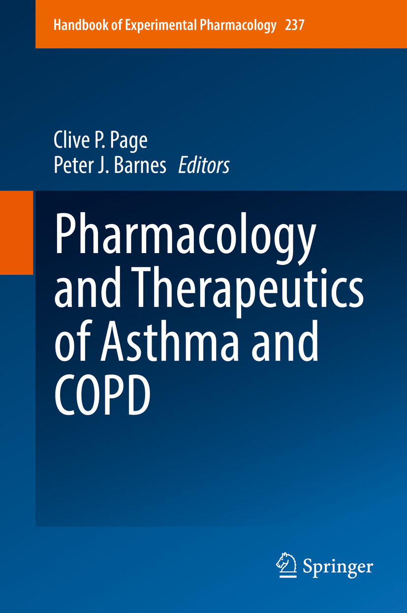 Barnes, Peter J. - Pharmacology and Therapeutics of Asthma and COPD, ebook