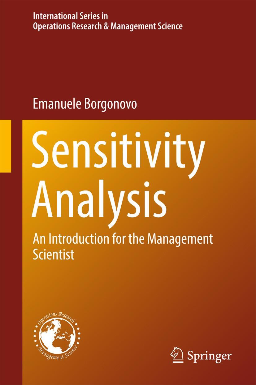 Borgonovo, Emanuele - Sensitivity Analysis, ebook