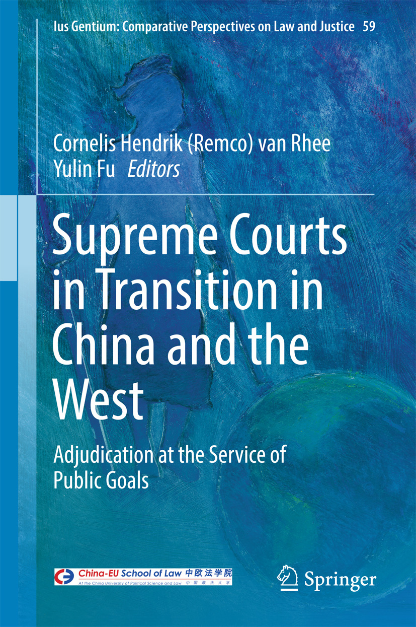 Fu, Yulin - Supreme Courts in Transition in China and the West, ebook