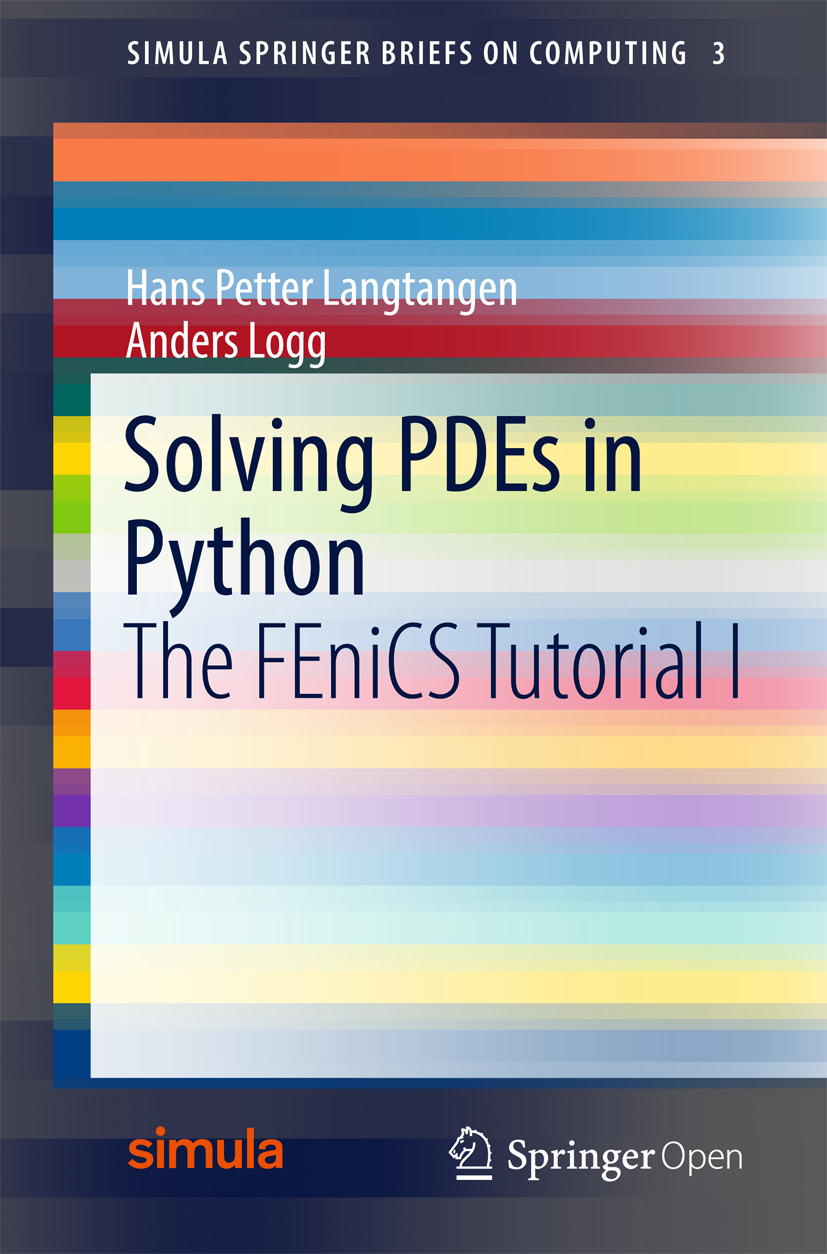 Langtangen, Hans Petter - Solving PDEs in Python, ebook