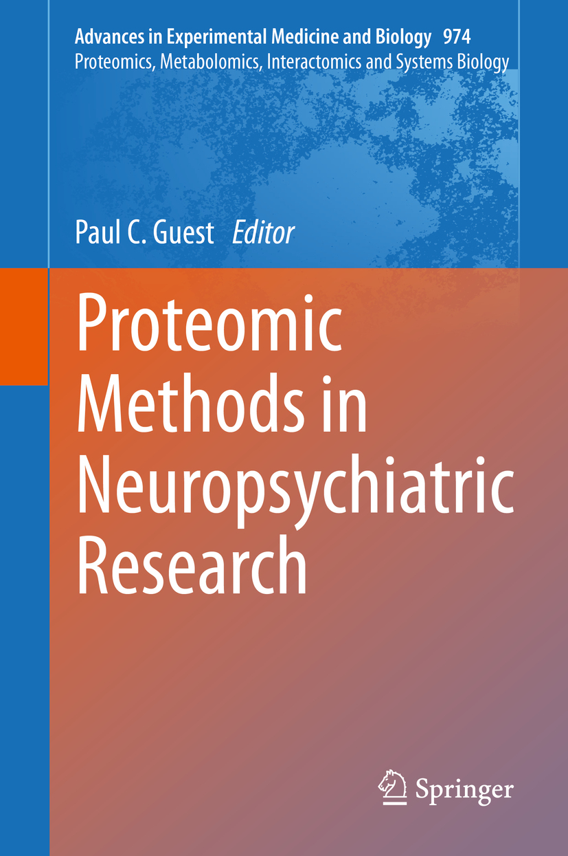 Guest, Paul C. - Proteomic Methods in Neuropsychiatric Research, ebook