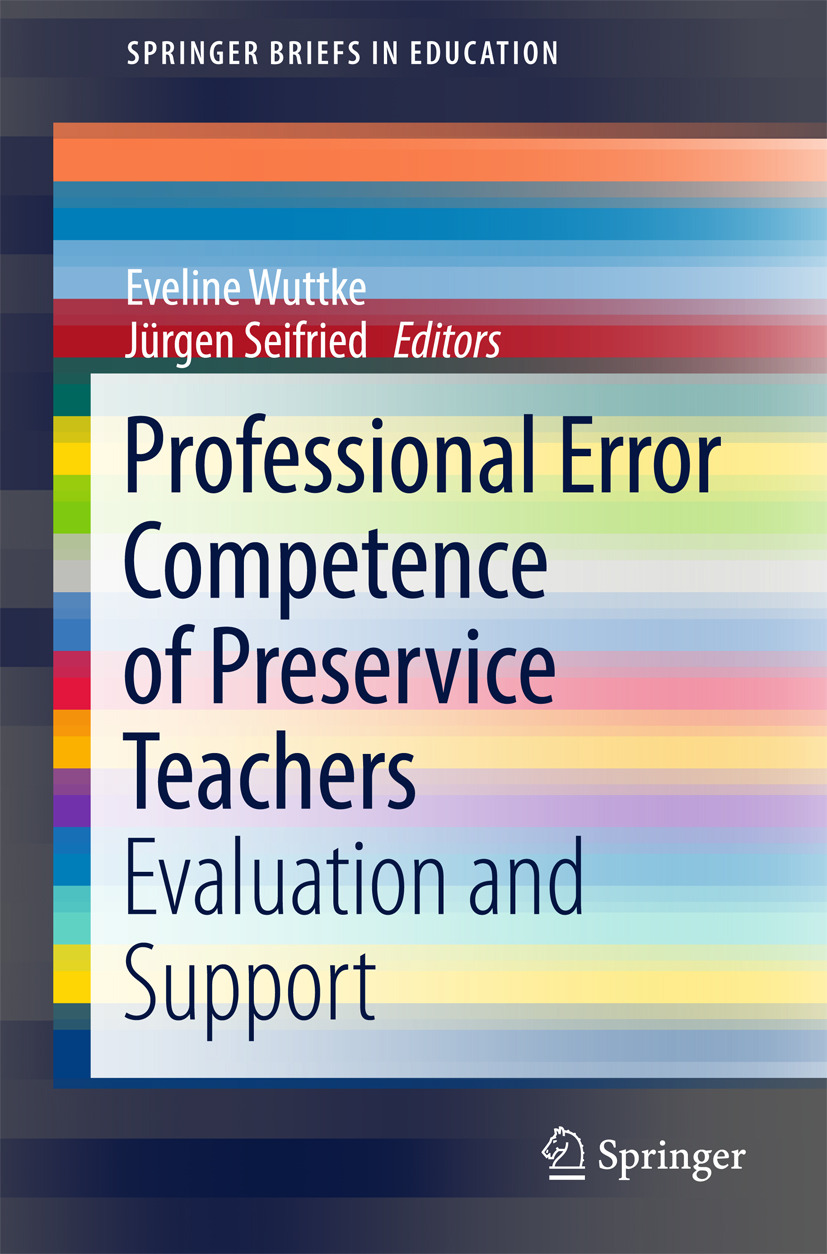 Seifried, Jürgen - Professional Error Competence of Preservice Teachers, ebook