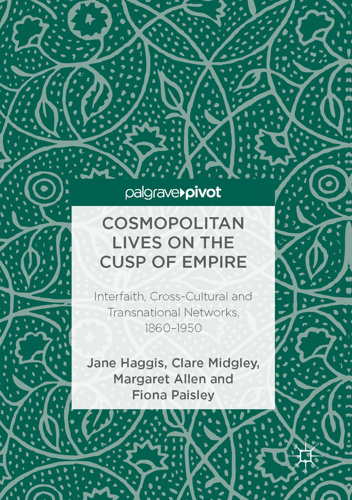 Allen, Margaret - Cosmopolitan Lives on the Cusp of Empire, ebook