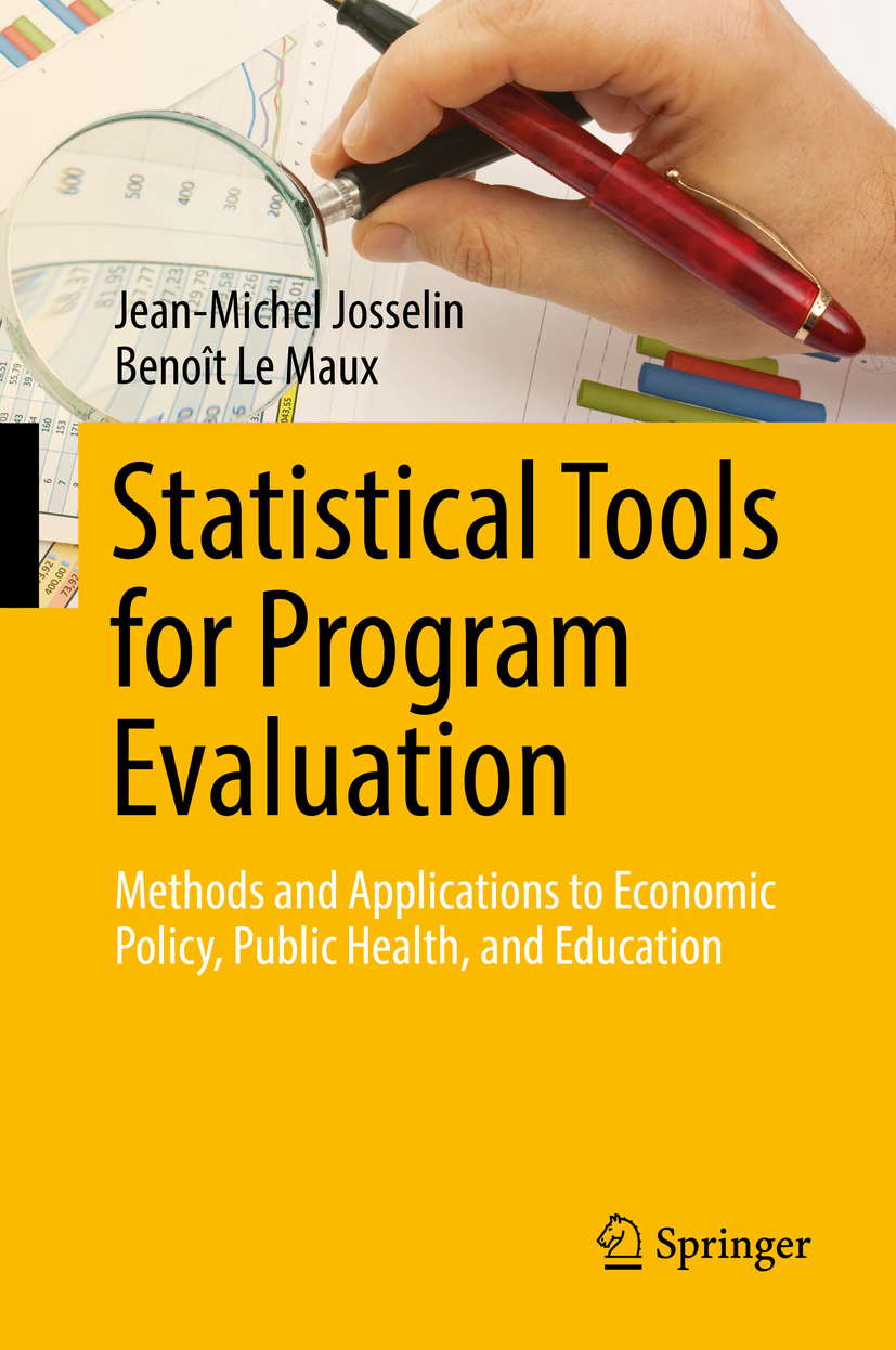 Josselin, Jean-Michel - Statistical Tools for Program Evaluation, ebook