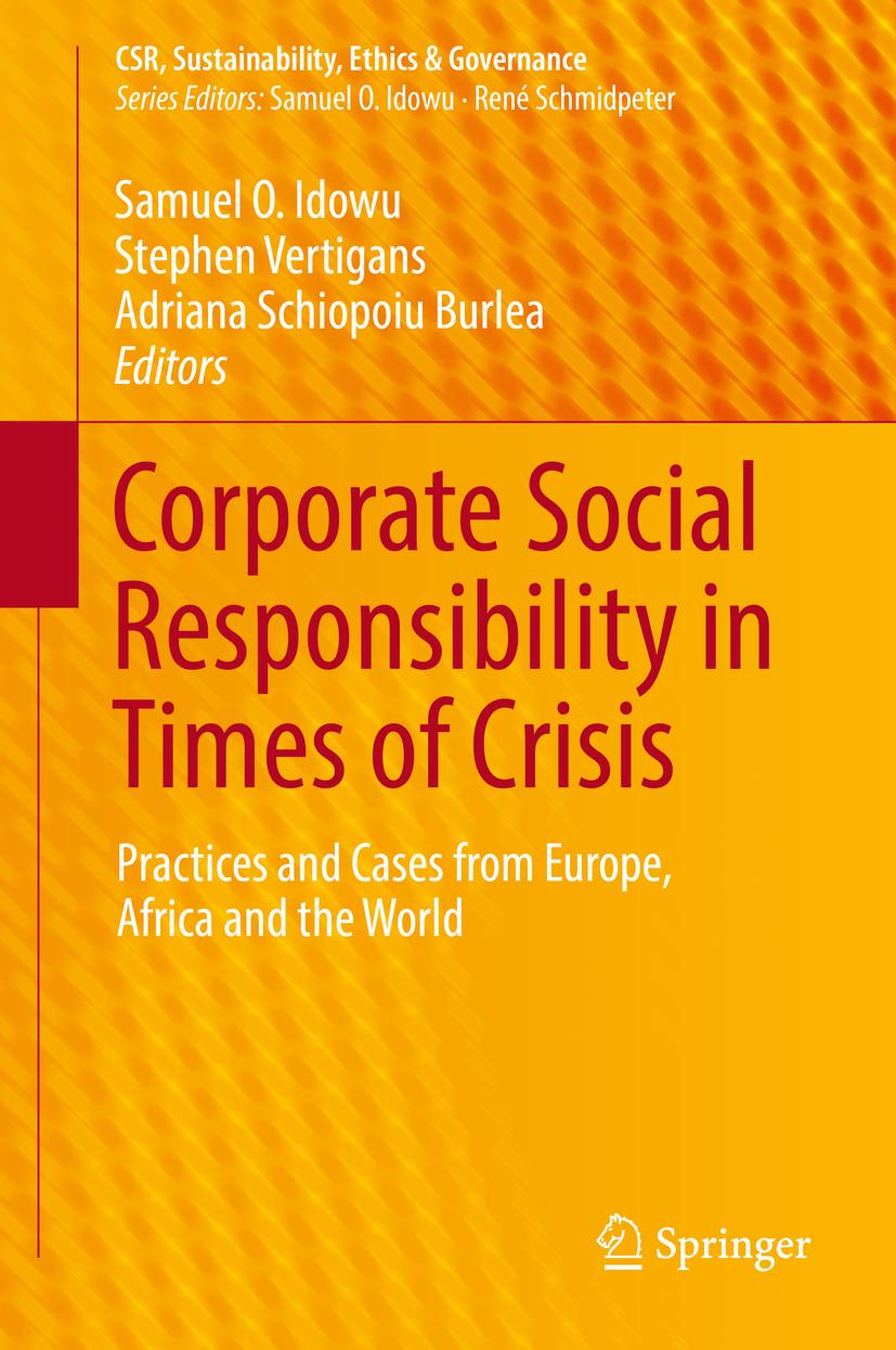 Burlea, Adriana Schiopoiu - Corporate Social Responsibility in Times of Crisis, ebook