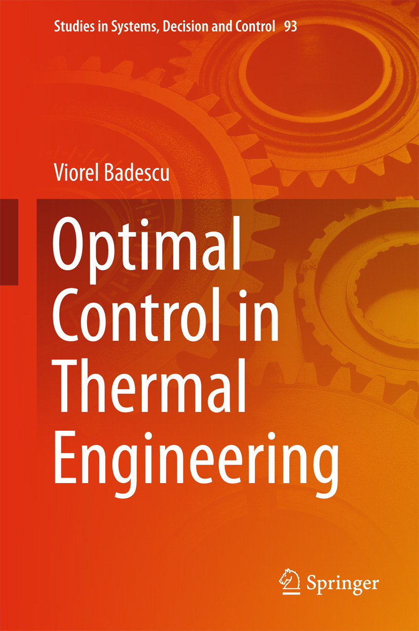 Badescu, Viorel - Optimal Control in Thermal Engineering, ebook