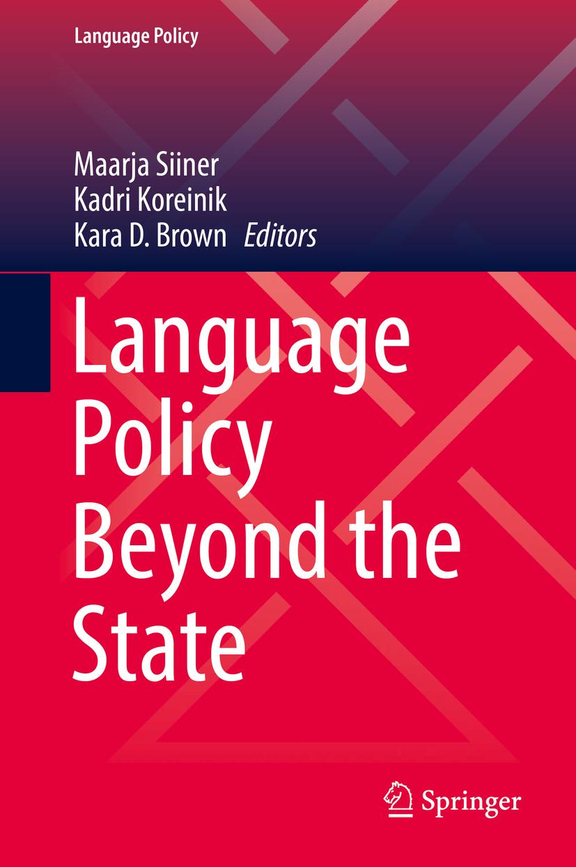 Brown, Kara D. - Language Policy Beyond the State, ebook