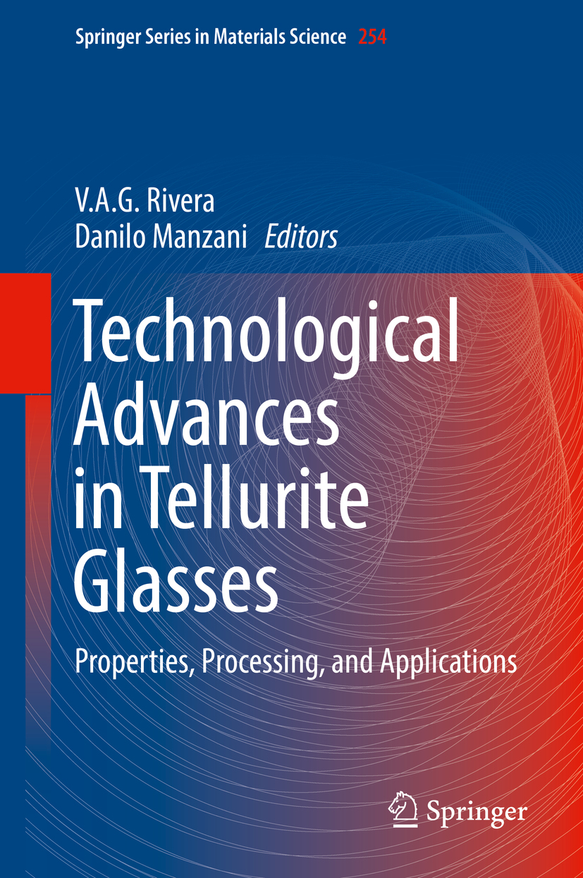 Manzani, Danilo - Technological Advances in Tellurite Glasses, ebook